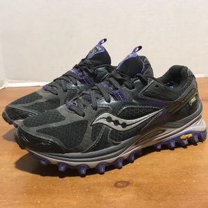 Saucony Xodus Gore-Tex Runanywere trail shoe sz 6